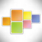 Square background Stock Photos