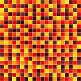 Square background. Seamless vector geometric pattern. With maroon, red, orange, gold, yellow squares on white backdrop Royalty Free Stock Photography