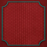 Square background with vintage frame 6. Royalty Free Stock Image
