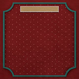 Square background with vintage frame 5. Royalty Free Stock Photo