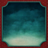 Square background with vintage frame 3. Royalty Free Stock Photography