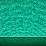 Square Banner with Shiny Mesh Lines Royalty Free Stock Photography