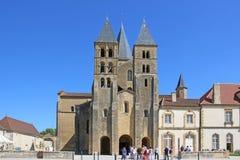 Basilica of Paray le Monial, France Stock Photography