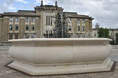 Square in Bergamo Royalty Free Stock Image