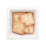 Square biscuit Royalty Free Stock Photography