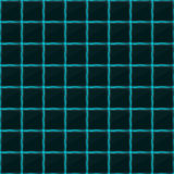 Square of black stone with blue streaks of energy. Seamless vector texture. Technology seamless pattern. Stock Images