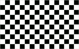 Square Black and white checkered abstract background with grey b Stock Photo