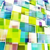 Square block texture abstract background Royalty Free Stock Photo