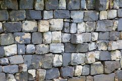 Square blocked wall Stock Photography