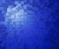 Square blocks. A background of square blocks at different heights Royalty Free Stock Image