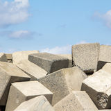 Square blocks Stock Images