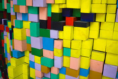 Square Blocks Royalty Free Stock Photo
