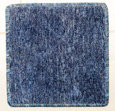 Square blue carpet. Stock Images
