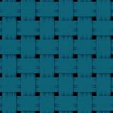 Square blue interlaced denim Royalty Free Stock Photo