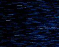 Square blue vivid 8-bit pixel dot interlaced space blast Stock Images