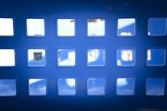 Square Blue Windows Royalty Free Stock Images