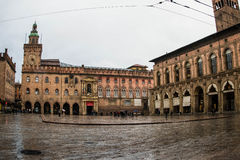 Square of Bologna Stock Photography