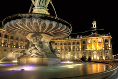 Square of the Bourse Stock Image