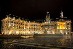 Square of the Bourse Royalty Free Stock Photography