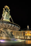 Square of the Bourse Stock Photos