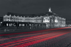 Square of the Bourse Royalty Free Stock Photo