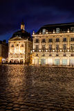 Square of the bourse, Bordeaux Stock Image