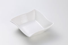 Square bowl Stock Images