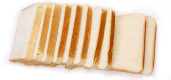 Square of bread Royalty Free Stock Photo
