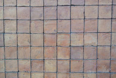 Square brick texture Stock Images