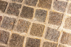 Square Brick Walkway Royalty Free Stock Photo