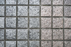 Square brick wall background texture Stock Photo