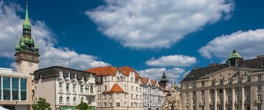 Square in Brno, Czech Republic Stock Photos