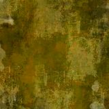Square Brown Grunge Background. A grunge background in earthy tones and shades of green and brown Royalty Free Stock Photography