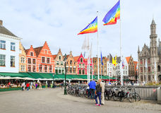 Square of Bruges Stock Image