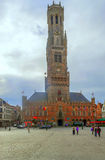 Square of Bruges Royalty Free Stock Photos