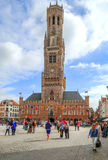 Square of Bruges Royalty Free Stock Photography