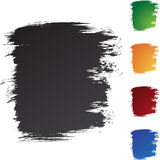 Square Brushstrokes Stock Image