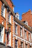 The Square buildings, Shrewsbury. Stock Photo
