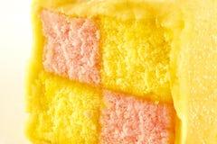 Square cake Royalty Free Stock Photo