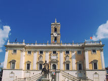 Square of Campidoglio Royalty Free Stock Photos