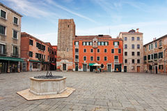 Square - Campo Santa Margherita in Venice Royalty Free Stock Image
