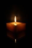 Square Candle Royalty Free Stock Photos