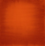 Square canvas. Painted with red to orange acrylic gradient Royalty Free Stock Images
