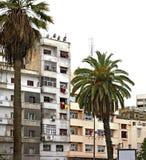 Square in Casablanca. Africa. Morocco.  Stock Photo