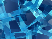 Square Cells 3. An image of some joined abstract square cells background texture Royalty Free Stock Photography