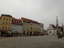 Weimar. Achitecture. Germany. Square. Centre. Houses stock photos