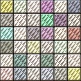 Square ceramic tiles Royalty Free Stock Photos