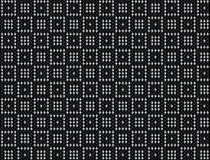 Square checker dot background. In black and silver Royalty Free Stock Images