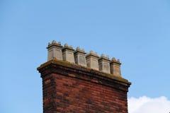 Square Chimneys. Stock Photography