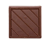 Square chocolate Royalty Free Stock Photos